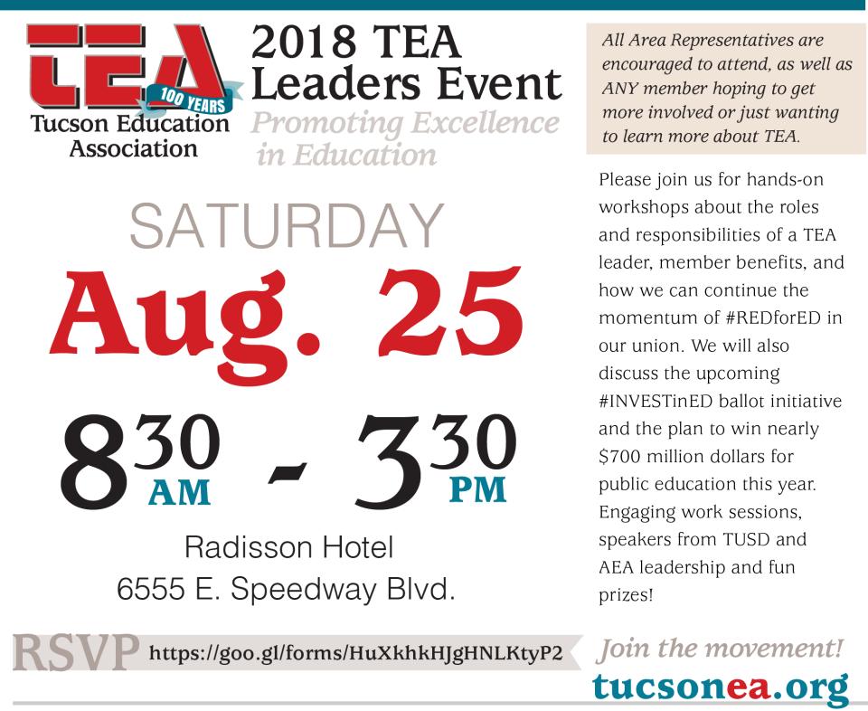 TEA 18 - Leader Event - fb