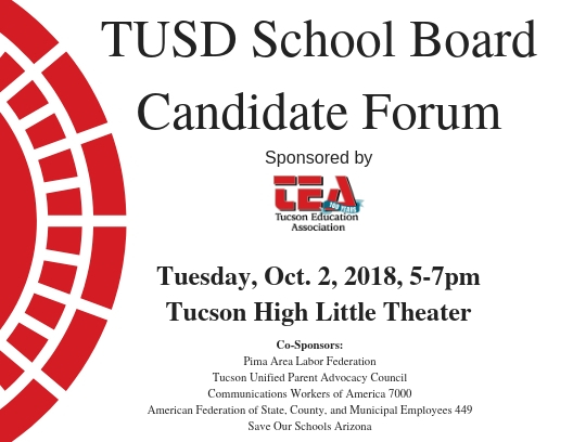 TUSD School Board Candidate Forum